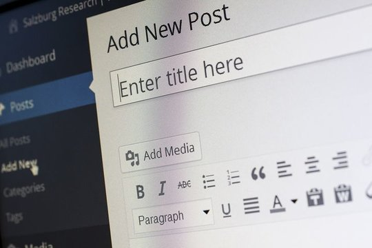 blogposts met wordpress maken.