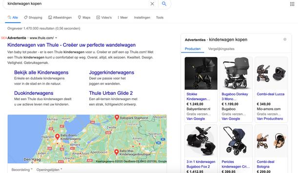 Google SEA.