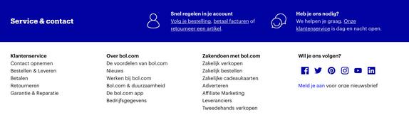 Affiliate marketing partnerprogramma Bol.com aanmelden.