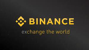 Binance exchange.