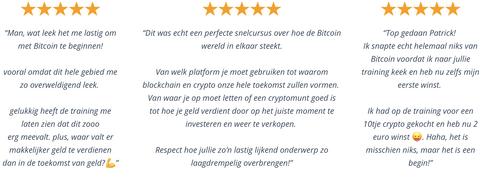 Review en ervaring alles over crypto webinar.