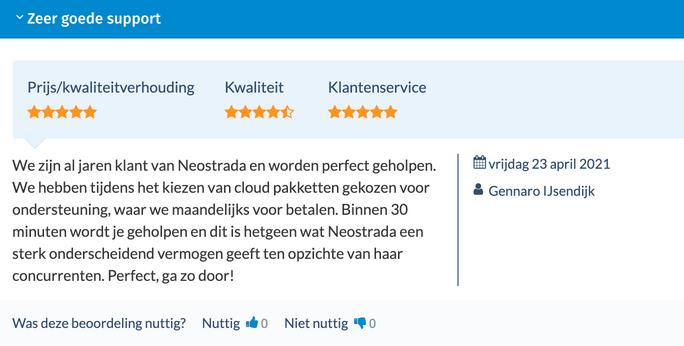 Neostrada review en ervaring